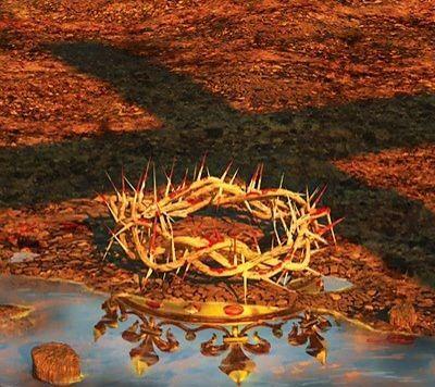 .La corona di spine di Gesù è , in vero, la corona Regale dei figli di Dio e si acquista con la croce!