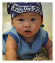 This could be what my little half Asian/half white baby looks like.......OMG