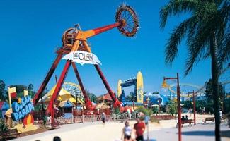 Queensland Travel. Theme Parks, Gold Coast