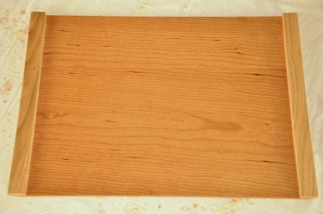 Mantel individual en madera