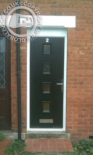 A selection of recently fitted doors to real homes throughout the UK Design price and order any door online available as supply only or fully fitted from ... & 9 best Black Composite Doors images on Pinterest | Black composite ... pezcame.com