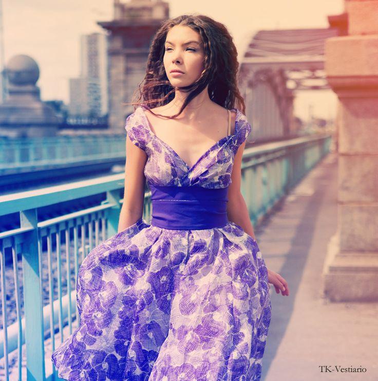 TK-Vestiario.ru Таисия Кирцова TK-Vestiario — индивидуальный пошив дизайнерской одежды на заказ » Летние платья с пышной юбкой в стиле 50-х, 60-х