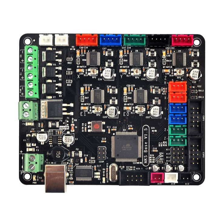 Mks base v15 3d printer control board with usb mega 2560 r3 mks base v15 3d printer control board with usb mega 2560 r3 motherboard reprap ramps14 compatible free shipping office electronics pinterest sciox Choice Image