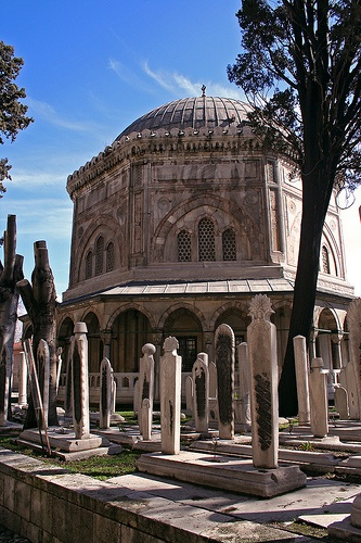 Grave Marker- Kanuni Sultan Süleyman's tomb
