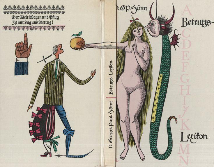 Betrugs Lexikon, illus. Werner Klemke, 1958