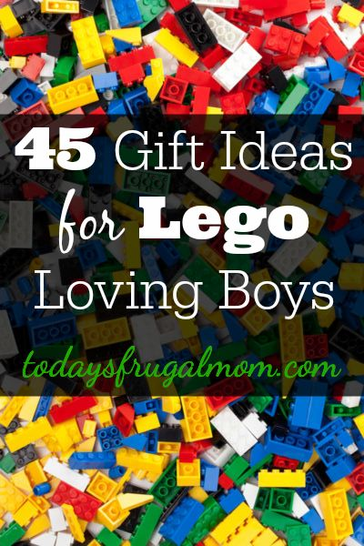 Come see these 45 gift ideas handpicked for Lego loving boys! :: TodaysFrugalMom.com