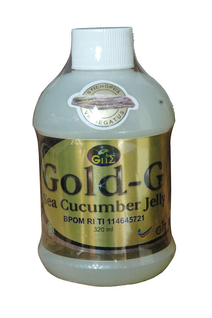 Obat Herbal Multi Khasiat, Ekstrak Teripang Jelly GAMAT GOLD G