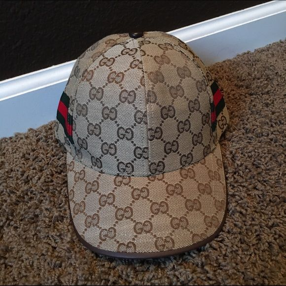 7bab0ff3e330e Gucci Hat Replica Gucci Hat! (Not real) Never worn. Super cute!! No flaws  Gucci Other