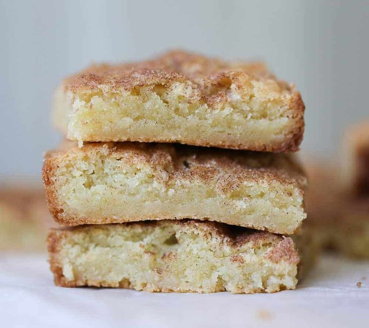Selbstgemachte Snickerdoodle-Kekse