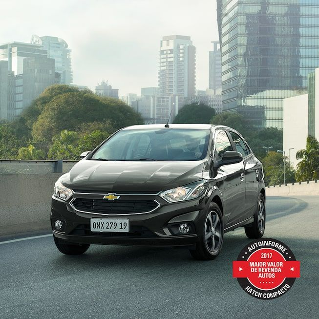 Novo Onix 2019 Hatch Da Chevrolet Carros Carro Popular Carros