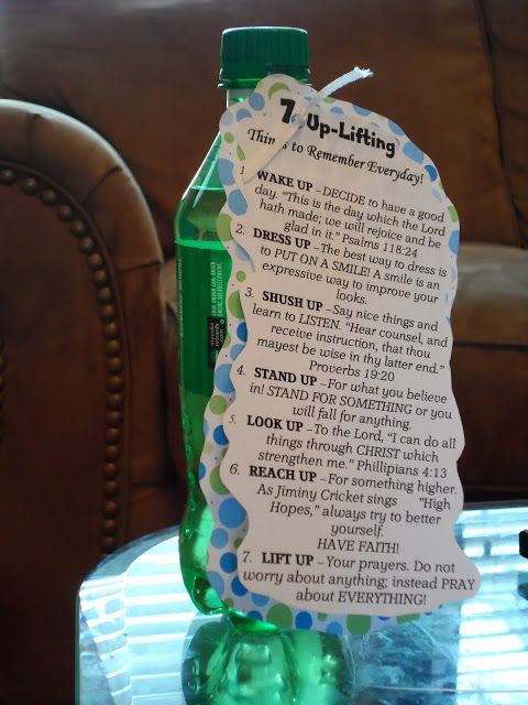 Cute gift ideas: 7 Up-Lifting things to remember, You are Extra special gum, Take a Break Chocolate