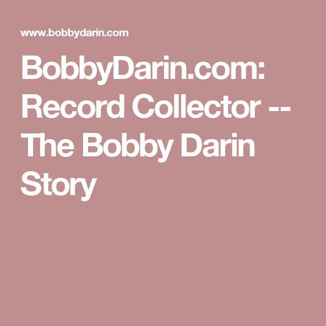 BobbyDarin.com: Record Collector -- The Bobby Darin Story