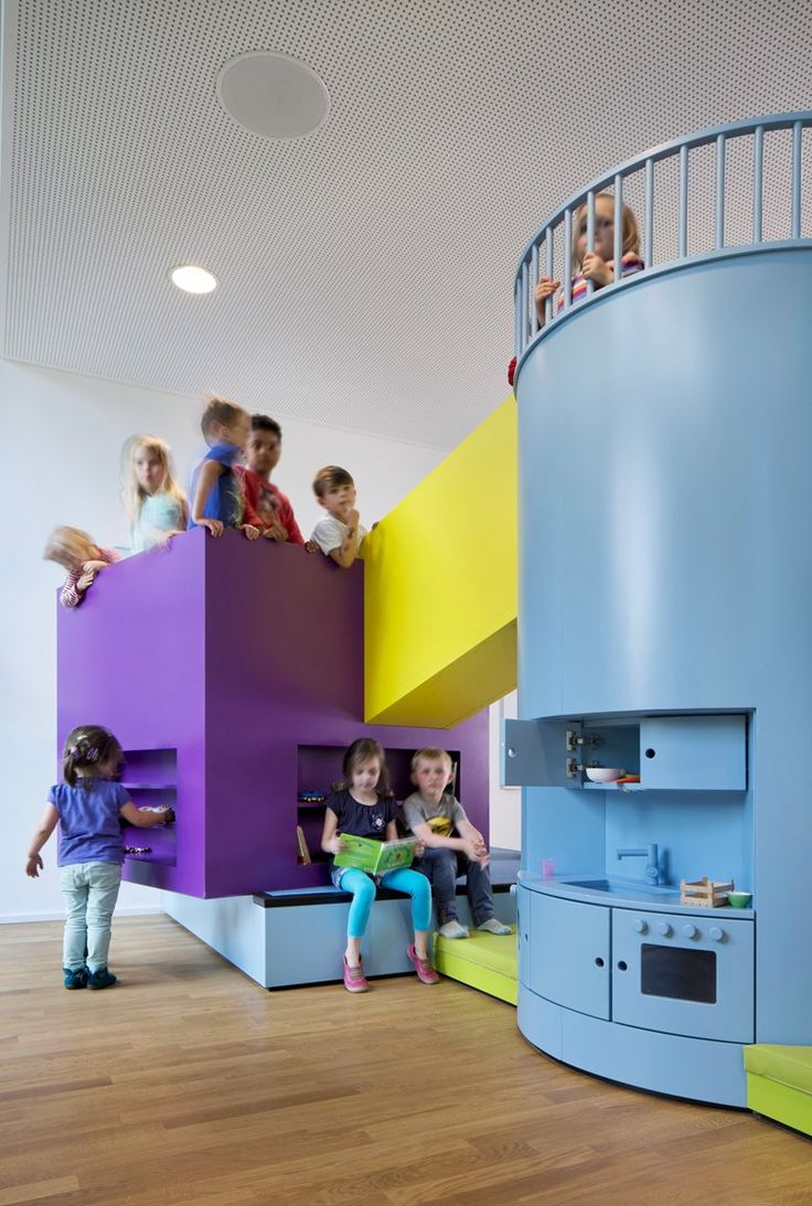 Kids school interior design - Gallery Beiersdorf Children S Day Care Centre Kadawittfeldarchitektur 2