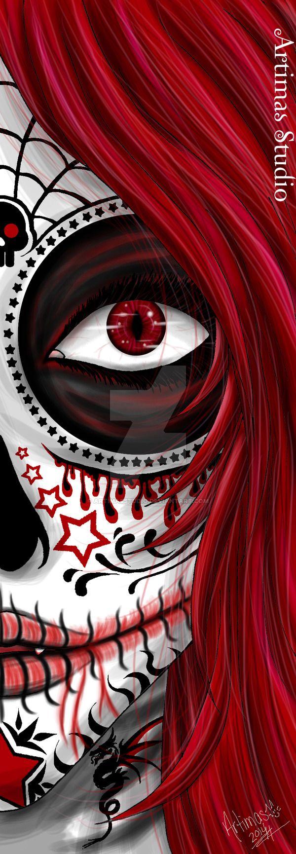 Red Death by ArtimasStudio.deviantart.com on @DeviantArt