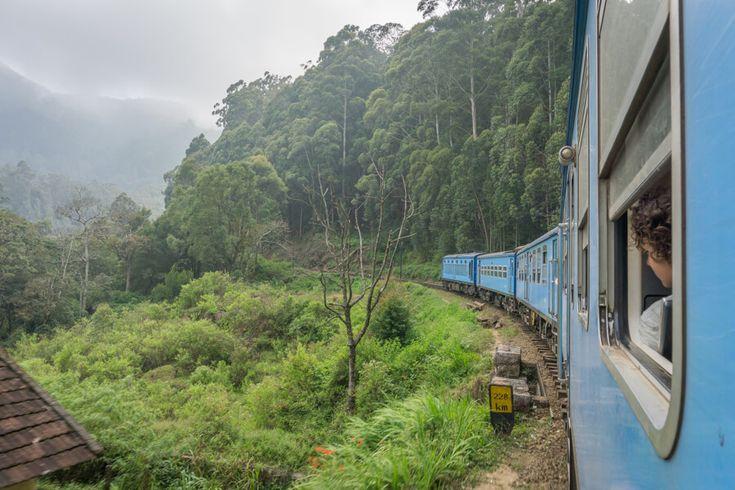 Sri Lanka Rundreise Urlaub Nuwara Eliya Ella Zugfahrt