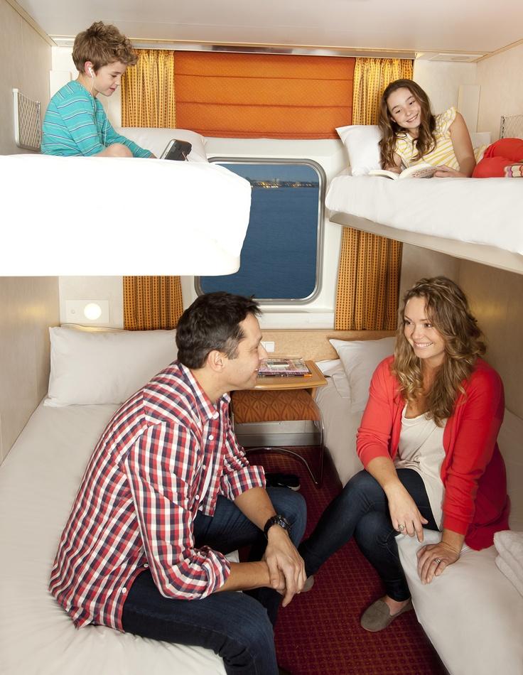 Cosy cabin time on board Spirit of Tasmania