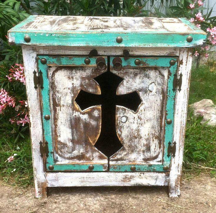 Cristiano Cross Side Table - Sofia's Rustic Furniture
