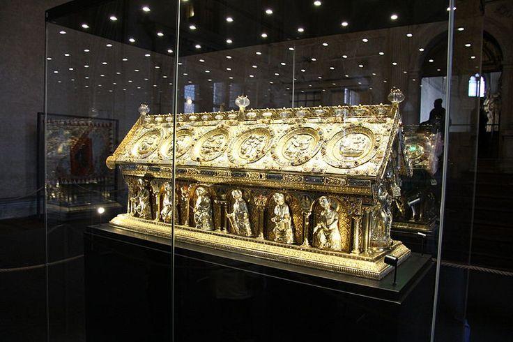 bečov nad teplou - Relikviář svatého Maura