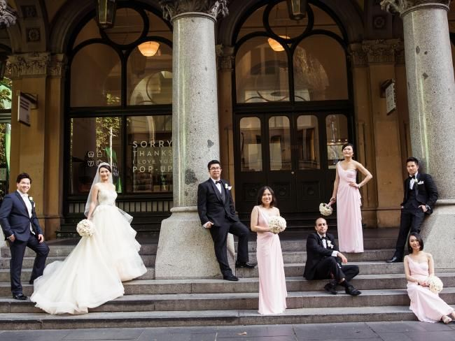 Sydney weddings of the week: Two hearts find destiny on Australia Day | DailyTelegraph