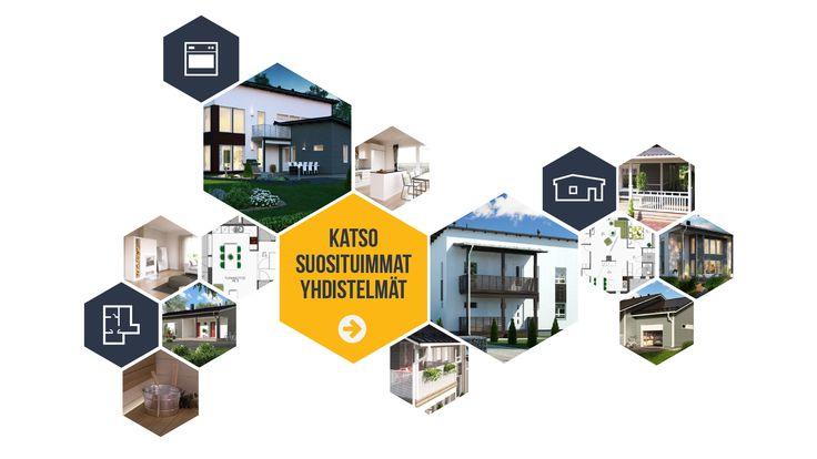 Räätälöi oma valmiskoti │muuttovalmis talopaketti / Design-Talo Oy #DesignTalo #Kotiräätäli #Unelmakoti #Intohimo