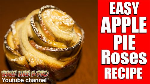 ★★►EASY Apple Pie Roses Recipe click the image to see my full video recipe on Youtube !