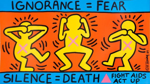 These Posters Vividly Document The History Of The HIV/AIDS Epidemic