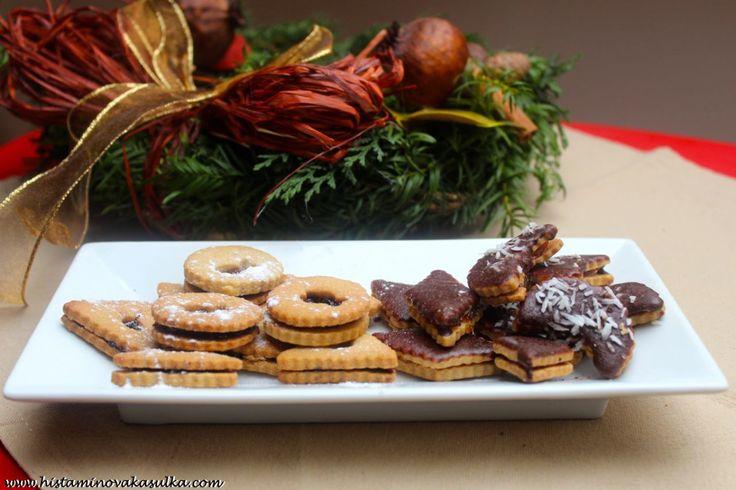 Kašulčiny pohankové Vánoce aneb perníčky, linecké, rohlíčky a sušenky s protizánětlivou pohankou