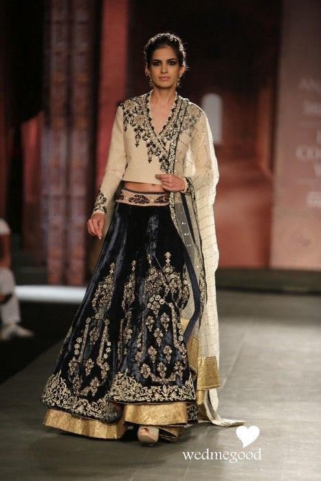 Anju-modi-india-couture-week-2014 (30) Love the Lehenga & Chunni