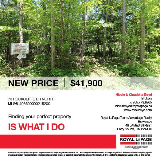 Carling Bayview subdivision building lot in an area of fine homes. Well treed for privacy. Access to 5 deeded beaches just steps away! Ask for more details about the area & what you can build on this beautiful wooded lot.