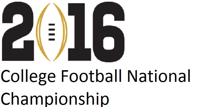 College Football National Championship 2016 online matches can always be accessed through several platforms College Football Championship Game 2016 Live