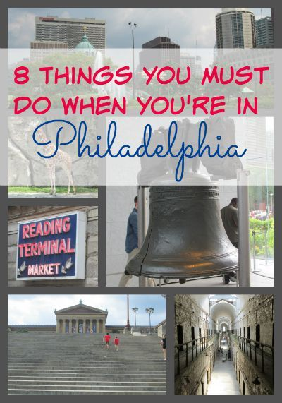 8 things you must do when you 39 re in philadelphia for Things to do philadelphia pa