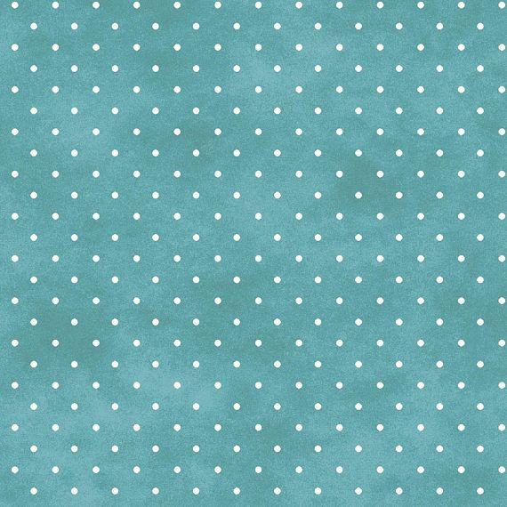 Pin Dots Aqua Haze By Maywood Studio 609 Qq Cotton Fabric Yardage Fabric Yardage Maywood Maywood Studios