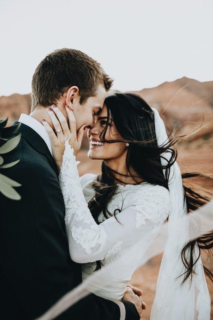 Beautiful wedding picture that captures the love between 2 people #weddingpicture #love # love
