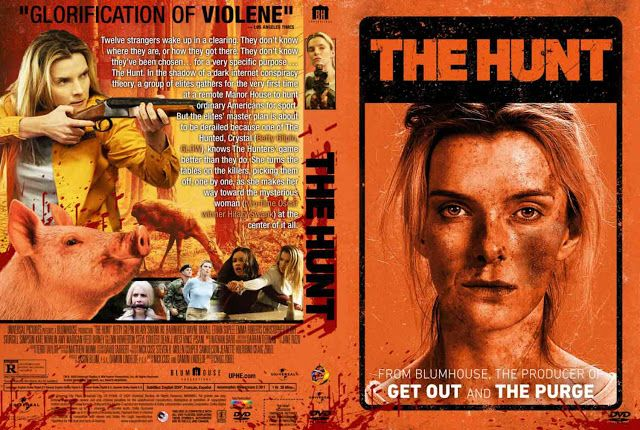 The Hunt (2020) DVD Cover in 2020 | Dvd covers, Movie blog, Dvd