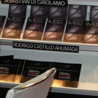 """Imagen de la participación de """"Pancho Mentiras"""" en la Feria del Libro de Buenos Aires, 2012."""