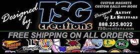 Happy New Year, 2018. Let's create something special in Custom #Car #Magnets, Custom Balls (#soccer / #Basketball), #Decals, & more. #carmagnets from www.TSGcreations.com & #customballs from the REAL #tsgsports at www.TSGsports.com have the BEST #value & designed #impact