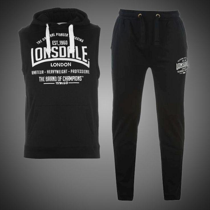 Sportovní souprava Lonsdale Champions black