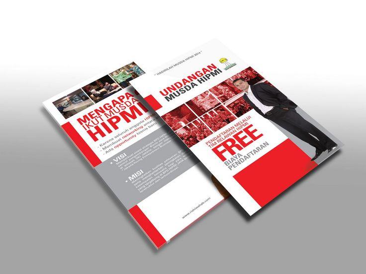 Desain Brosur kampanye Rishi Wahab HIPMI Jaya versi 1 oleh www.SimpleStudioOnline.com | Order desain brosur profesional >> WA : 0813-8650-8696