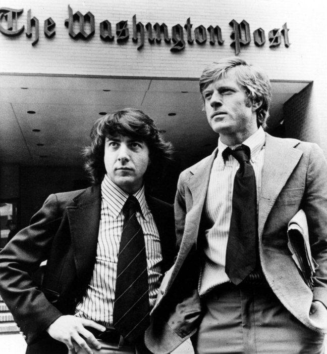 Dustin Hoffman e Robert Redford: Bobs Woodward, President Men, U.S. Presidents, Robert Redford, Movie, Men 1976, Hoffman Start, Dustin Hoffman, All The Presidents Men