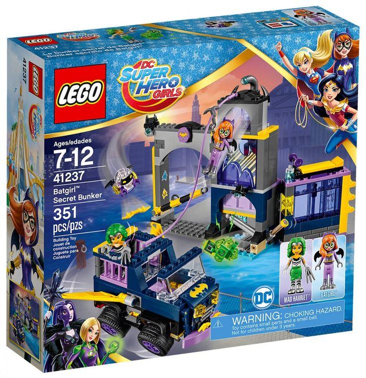LEGO DC Super Hero Girls 41237 : Le Bunker secret de Batgirl - Juin 2017