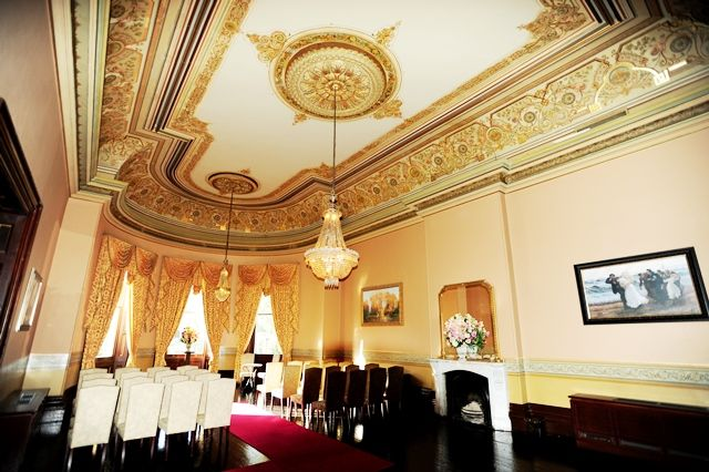 Wedding ceremony grandeur - Ayers House, Adelaide #weddingceremony