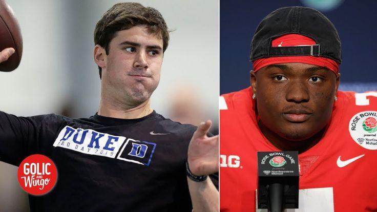 The Giants could draft Daniel Jones over Dwayne Haskins ...