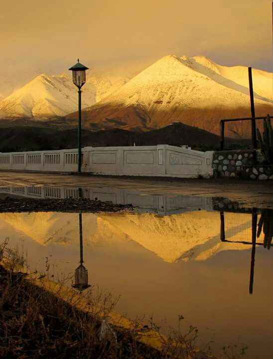 Camino al valle de Elqui.Cuarta region CHile.
