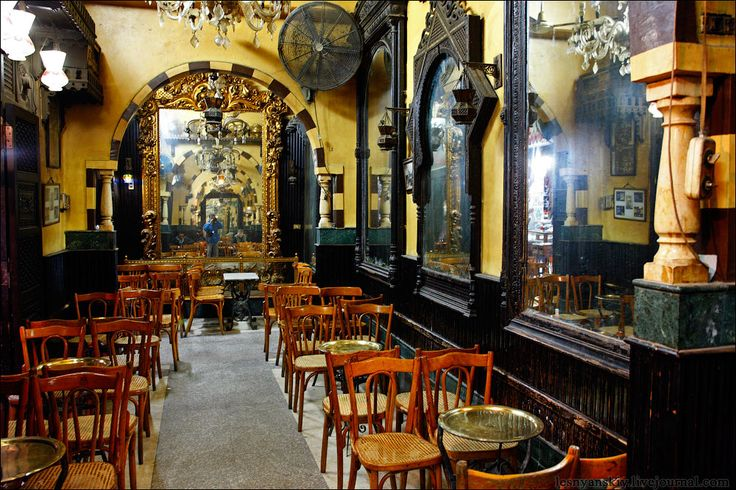 Ancient restaurant fishavi cairo egypt africa