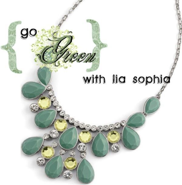"""lia sophia green"" by andrea-nickels-barnett on Polyvore"