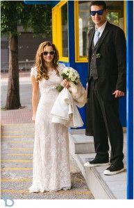 Stylish winter wedding....