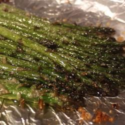 Oven-Roasted Asparagus 6-16-13 really good!! ~mn