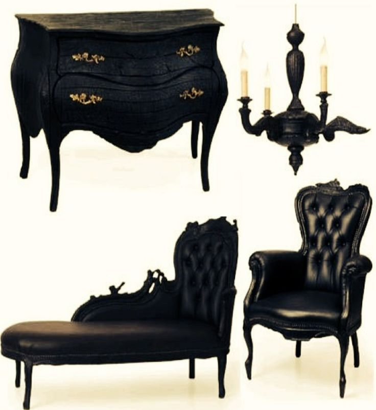 Gothic furniture for when darkness falls dream for Furniture 0 interest