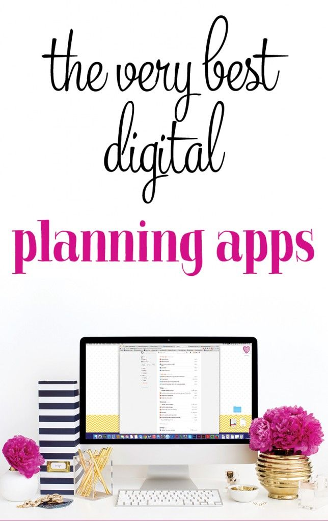 The best digital planning tools and apps. I'm a bit of a productivity junkie, and I'm sharing my favorite tools and apps for planning, making list, and keeping life organized.