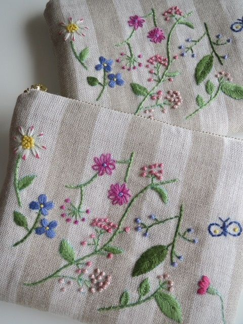 Best ideas about hand embroidery flowers on pinterest